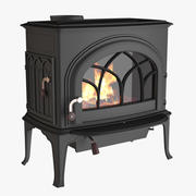 Photoreal Fireplace C 3d model