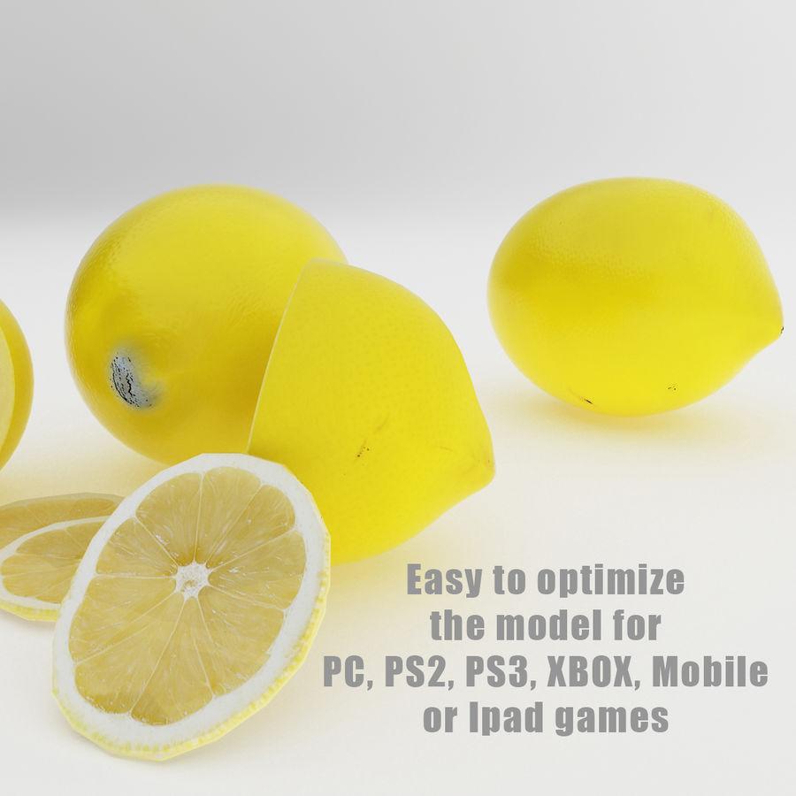Limoni royalty-free 3d model - Preview no. 4