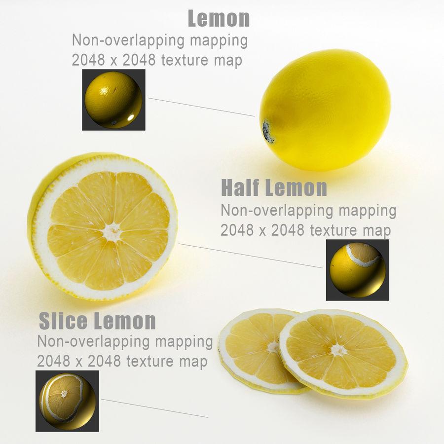 Limoni royalty-free 3d model - Preview no. 3