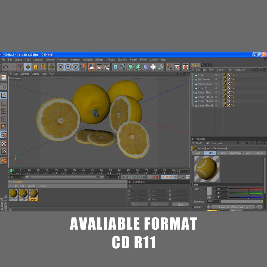 Limoni royalty-free 3d model - Preview no. 10