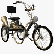 Steampunk Tricycle 3d model