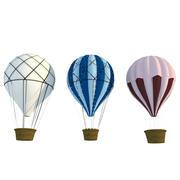 Горячие воздушные шары 3d model