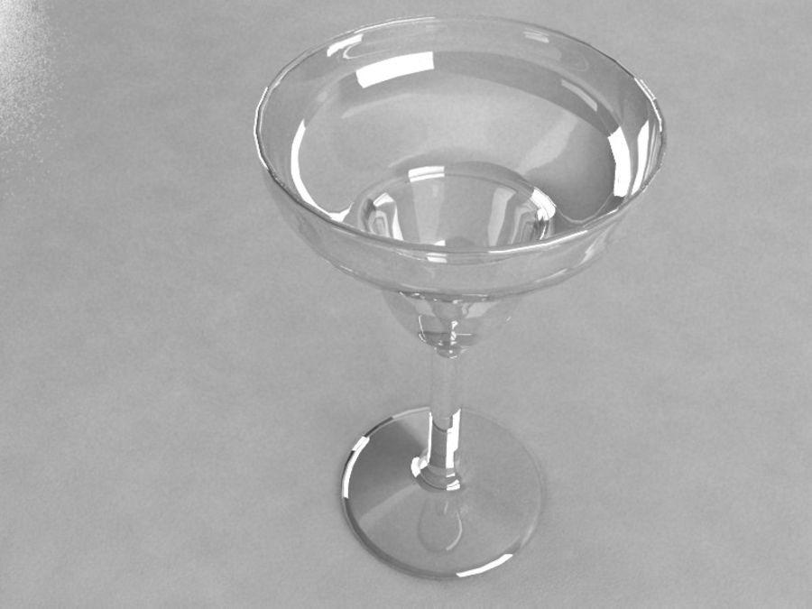 와인 잔 royalty-free 3d model - Preview no. 3