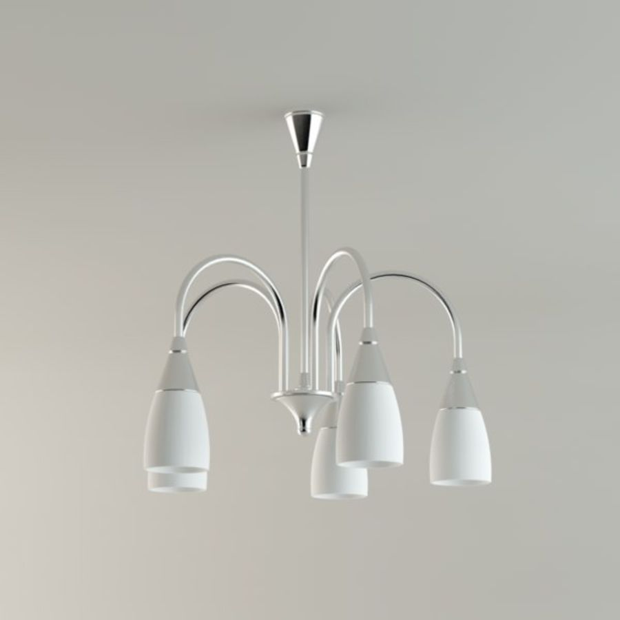 Lampa sufitowa royalty-free 3d model - Preview no. 1