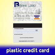 Bank Credit Card 3d model