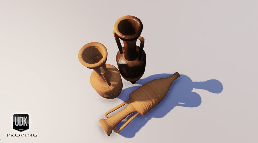 Amphoras royalty-free 3d model - Preview no. 7