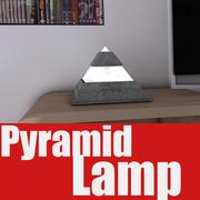 Pyramid Lamp 3d model
