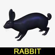 Conejo modelo 3d