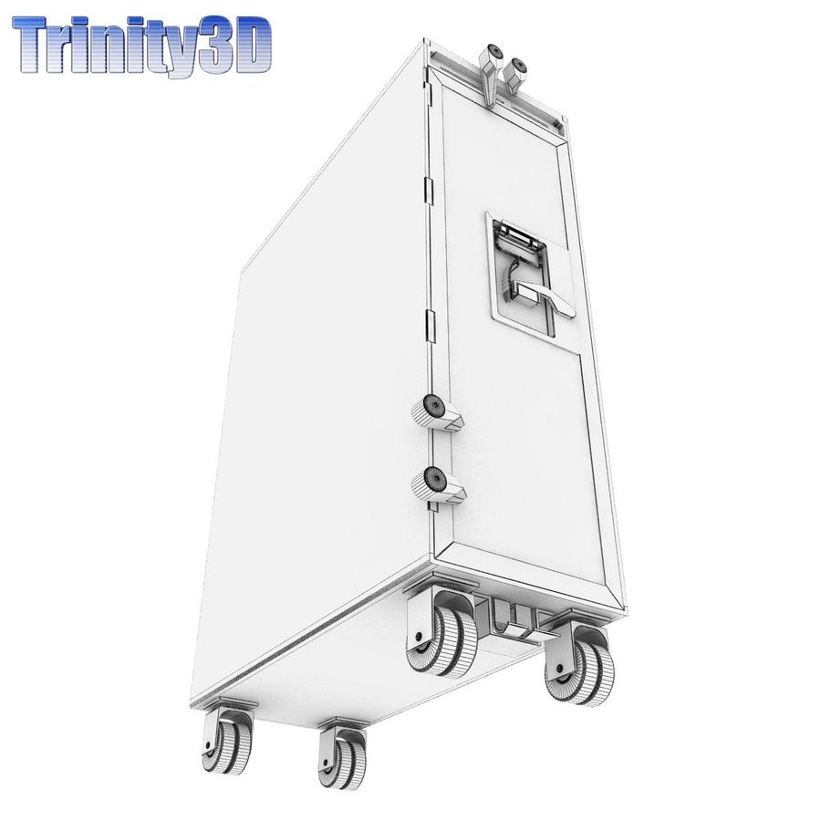 Airplane Cart royalty-free 3d model - Preview no. 10
