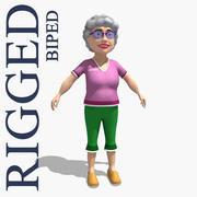 奶奶 3d model