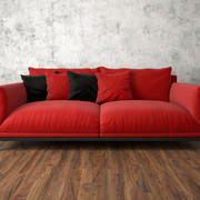 Sofa Faubourg 3d model