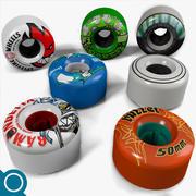 Skateboard wheel 3d model