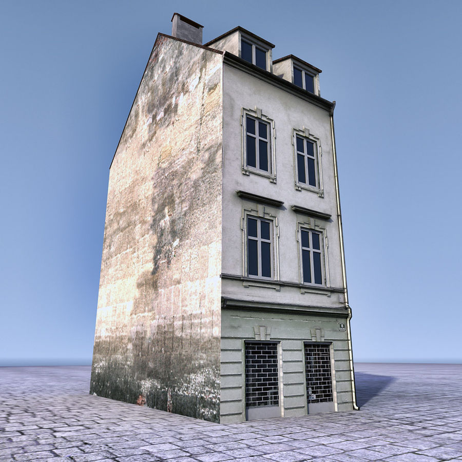 Europees Gebouw 022 Emona royalty-free 3d model - Preview no. 2