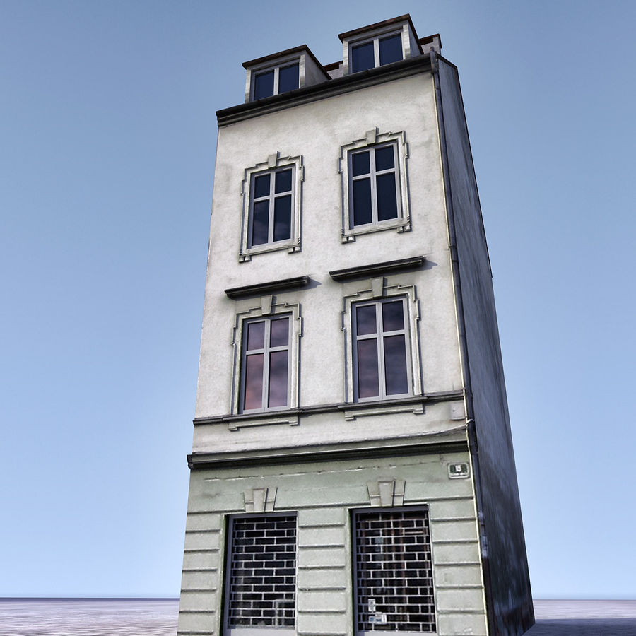 Europees Gebouw 022 Emona royalty-free 3d model - Preview no. 3