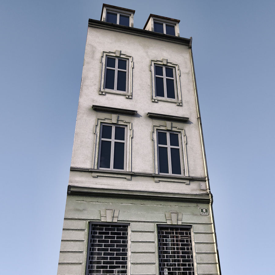 Europees Gebouw 022 Emona royalty-free 3d model - Preview no. 4