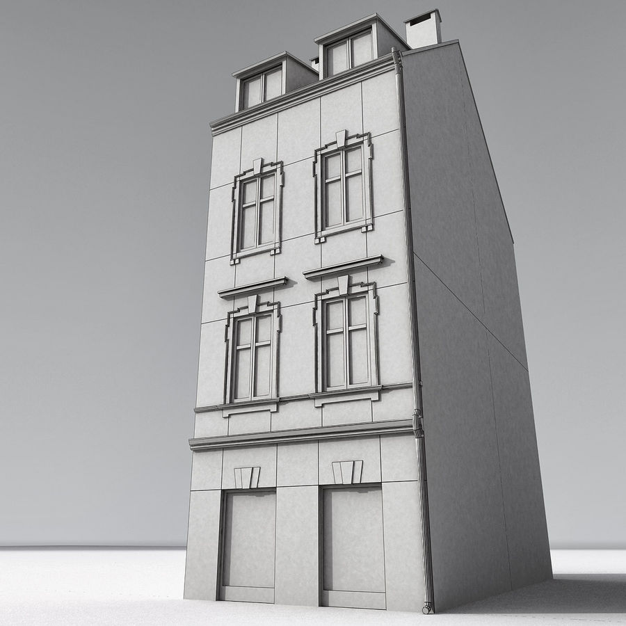 Europees Gebouw 022 Emona royalty-free 3d model - Preview no. 9