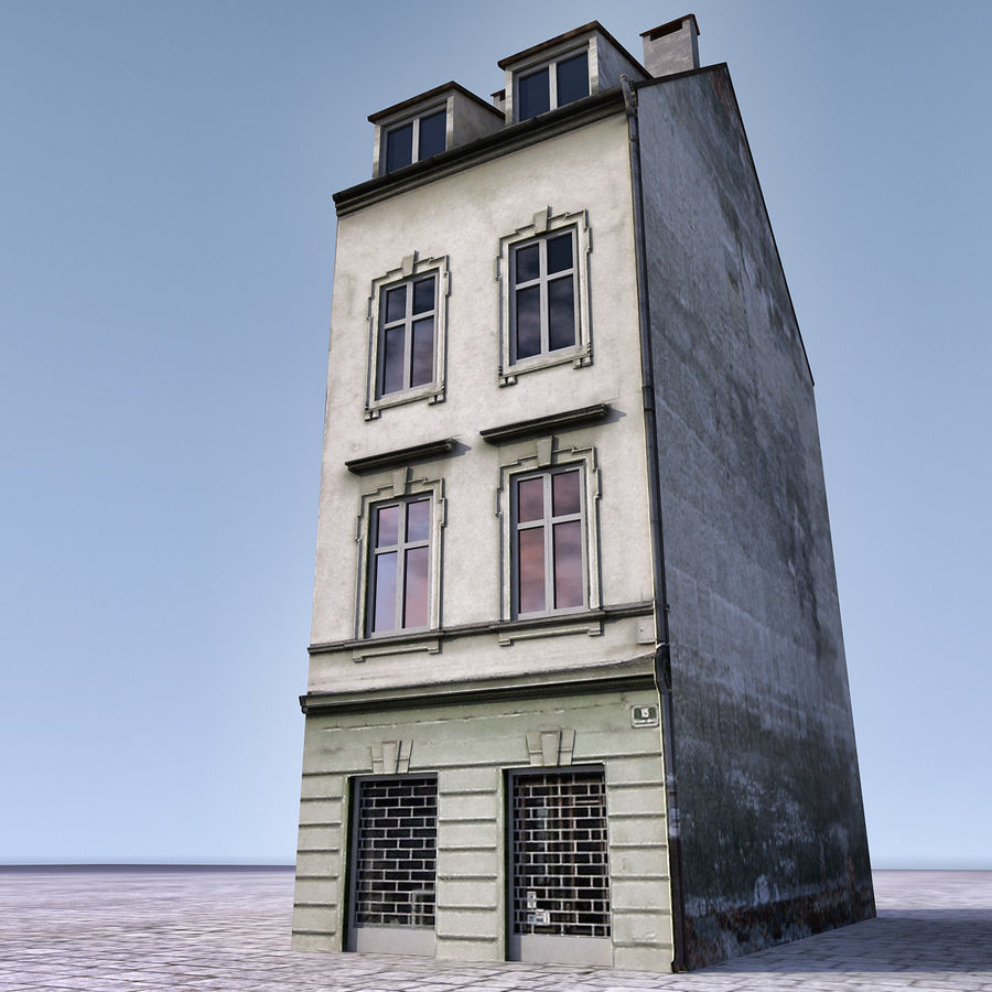 Europees Gebouw 022 Emona royalty-free 3d model - Preview no. 1