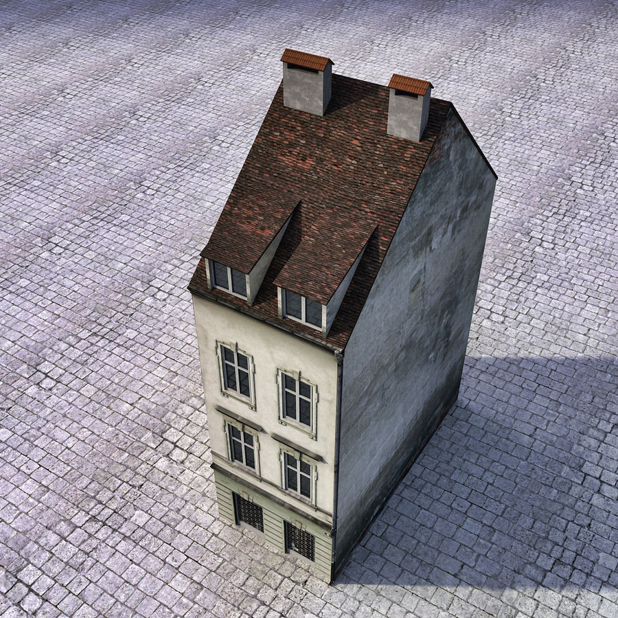 Europees Gebouw 022 Emona royalty-free 3d model - Preview no. 7