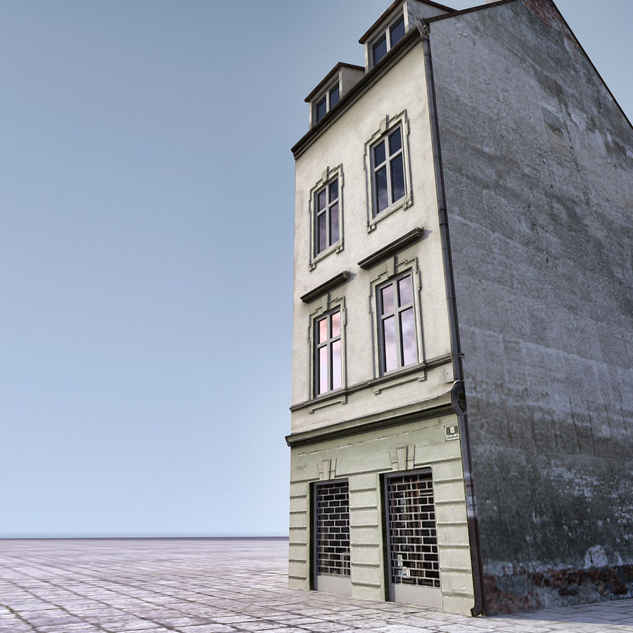 Europees Gebouw 022 Emona royalty-free 3d model - Preview no. 6