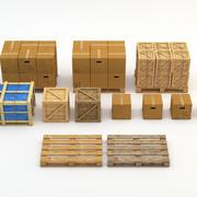 Industrail Pack 3d model
