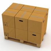 Caixas de paletes 3d model