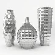 Vases Hrome Q Set 3d model