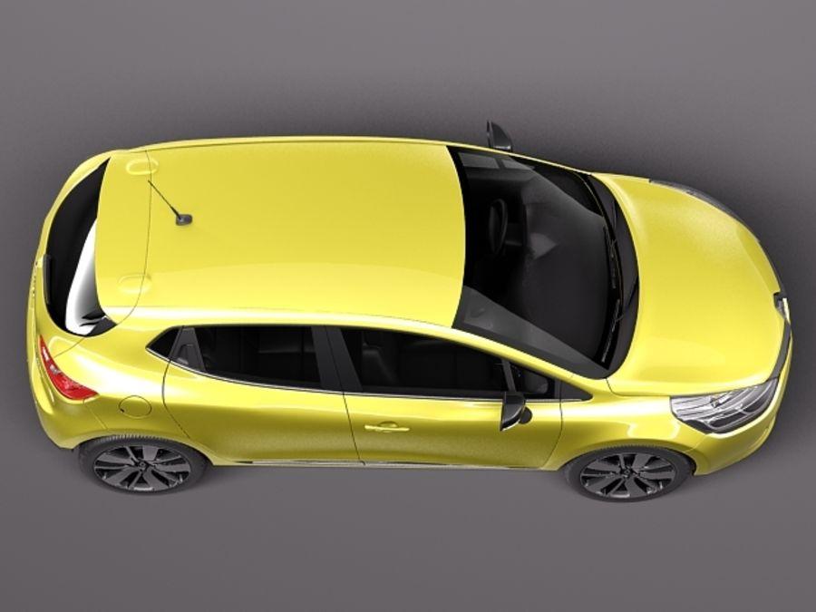 Renault Clio 2013 Modelo 3d 129 Obj Max Lwo Fbx C4d