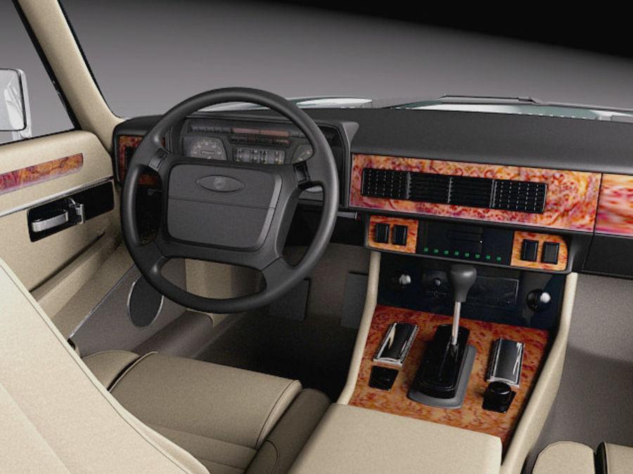 Ягуар XJS купе 1975 royalty-free 3d model - Preview no. 9