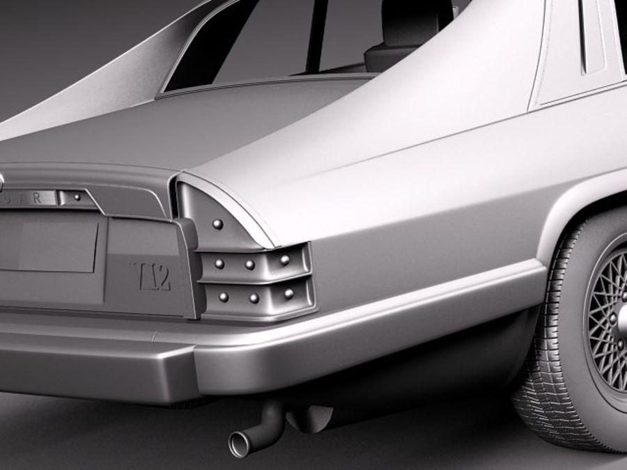 Ягуар XJS купе 1975 royalty-free 3d model - Preview no. 12