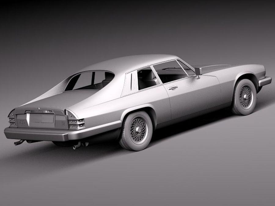 Ягуар XJS купе 1975 royalty-free 3d model - Preview no. 13
