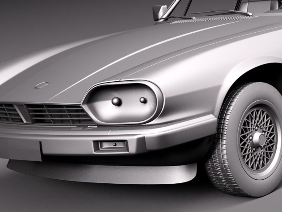 Ягуар XJS купе 1975 royalty-free 3d model - Preview no. 11