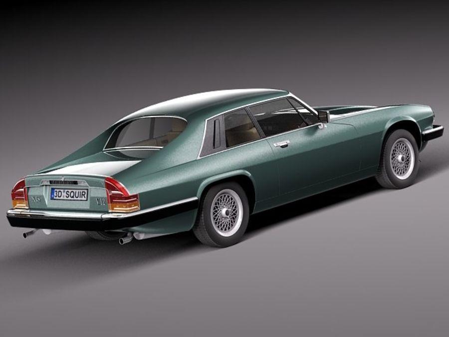 Ягуар XJS купе 1975 royalty-free 3d model - Preview no. 5