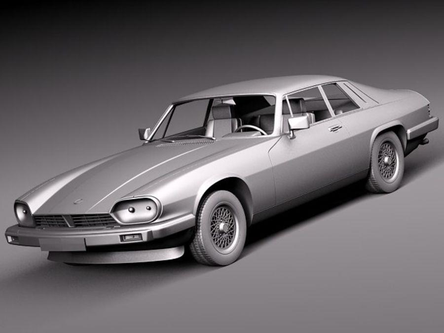 Ягуар XJS купе 1975 royalty-free 3d model - Preview no. 10