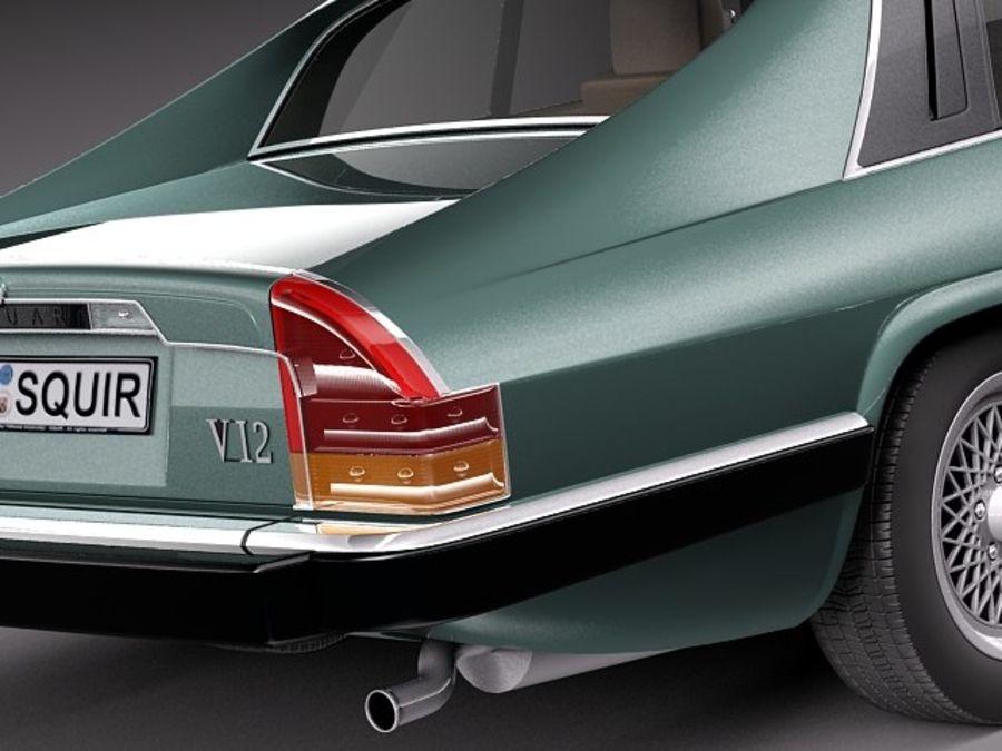 Ягуар XJS купе 1975 royalty-free 3d model - Preview no. 4