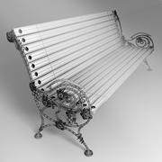 bench_6 3d model
