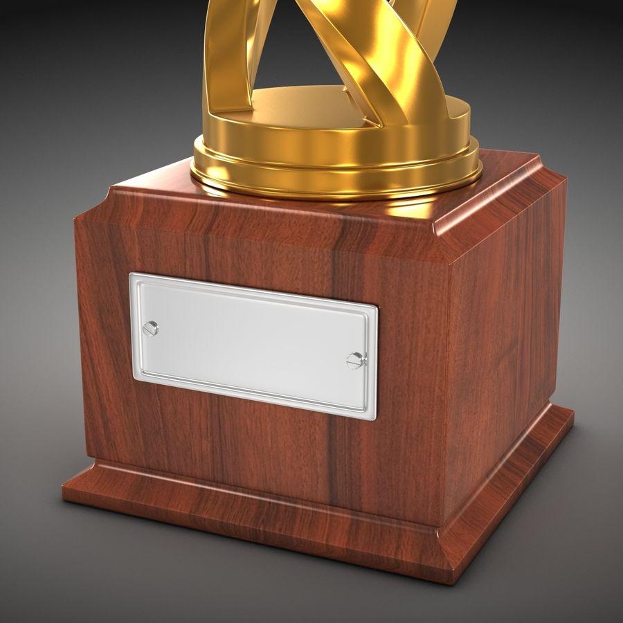 Futbol kupası royalty-free 3d model - Preview no. 5