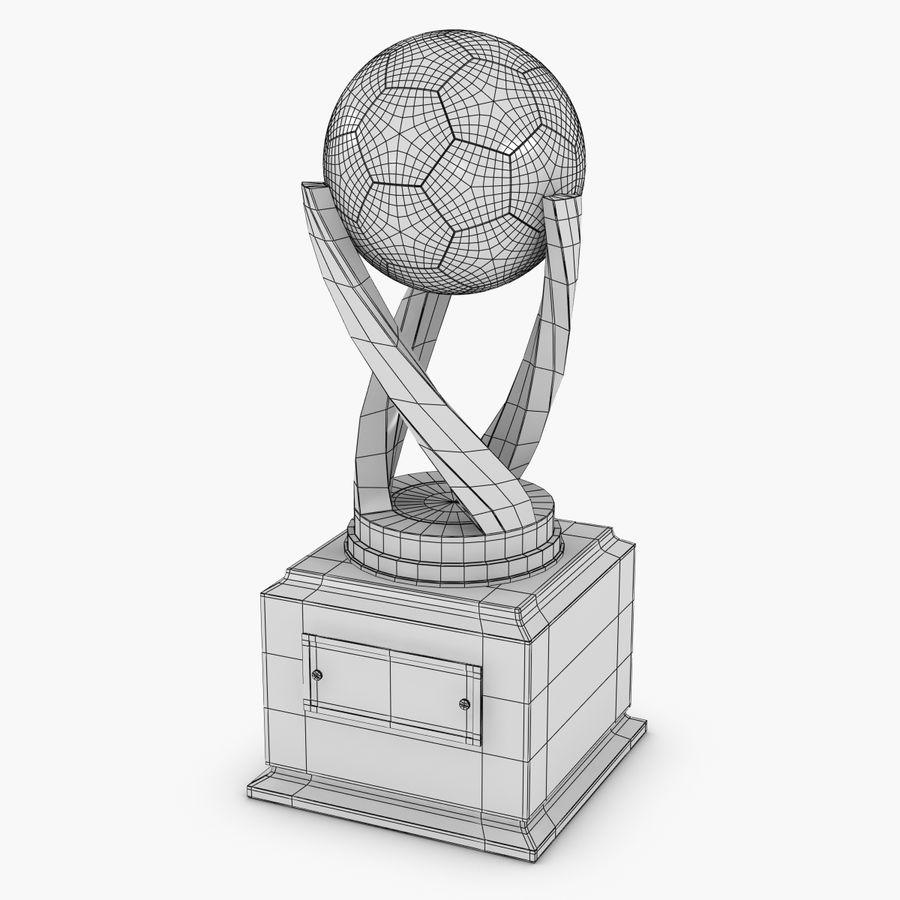 Futbol kupası royalty-free 3d model - Preview no. 7