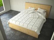 침대 3d model