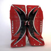 Patins de gardien de but de hockey sur glace Itech XWing 3d model
