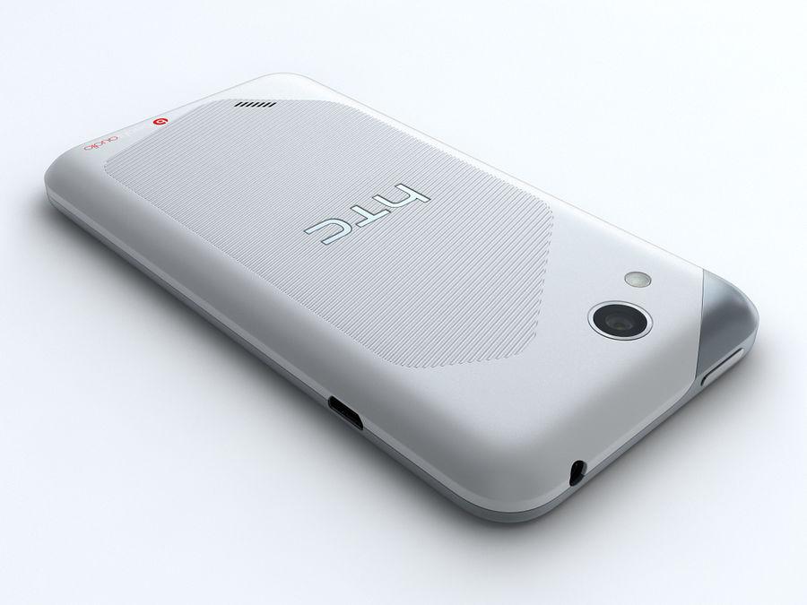 HTC Desire VC royalty-free 3d model - Preview no. 8