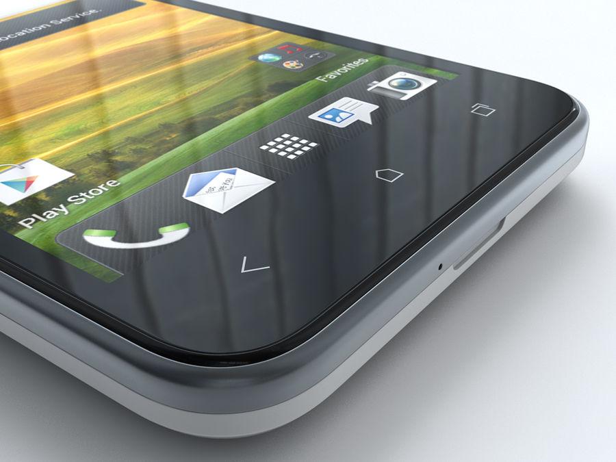 HTC Desire VC royalty-free 3d model - Preview no. 22