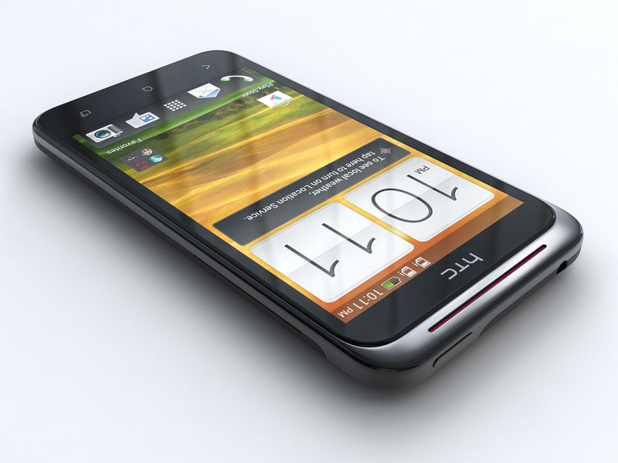 HTC Desire VC royalty-free 3d model - Preview no. 3