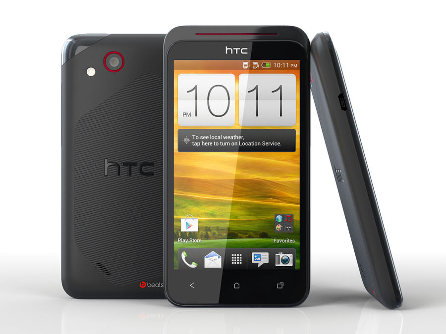 HTC Desire VC royalty-free 3d model - Preview no. 1