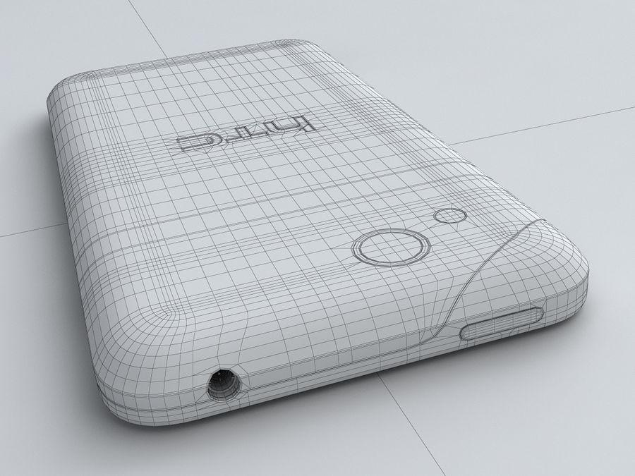 HTC Desire VC royalty-free 3d model - Preview no. 30