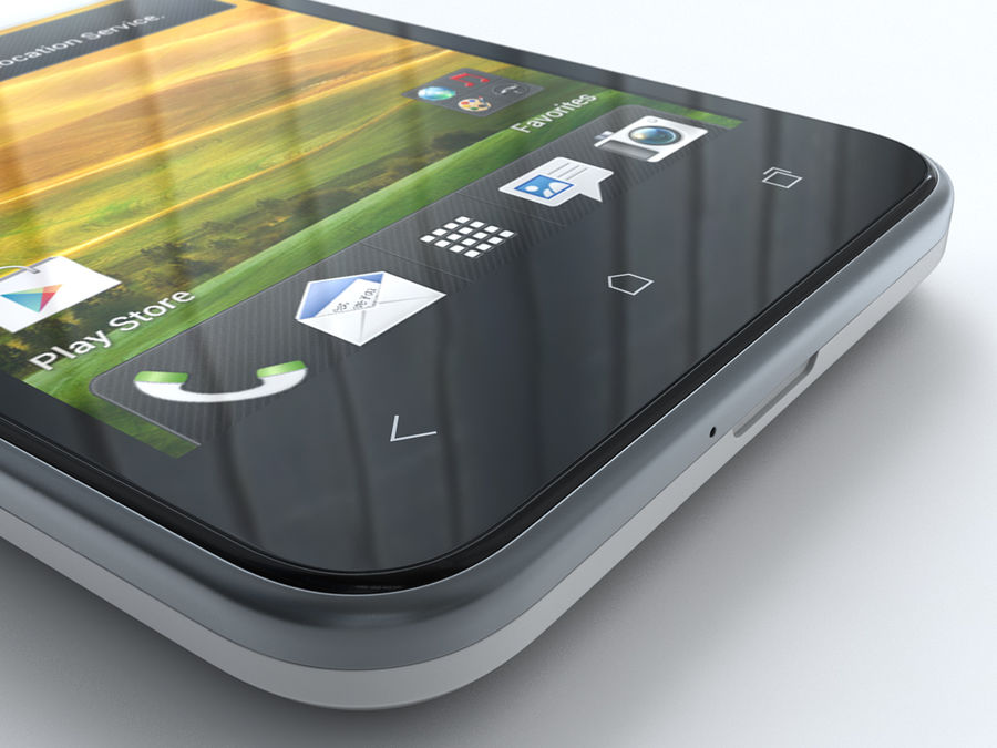 HTC Desire VC royalty-free 3d model - Preview no. 23