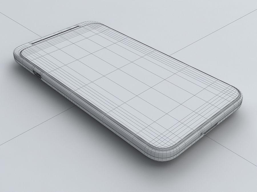 HTC Desire VC royalty-free 3d model - Preview no. 27