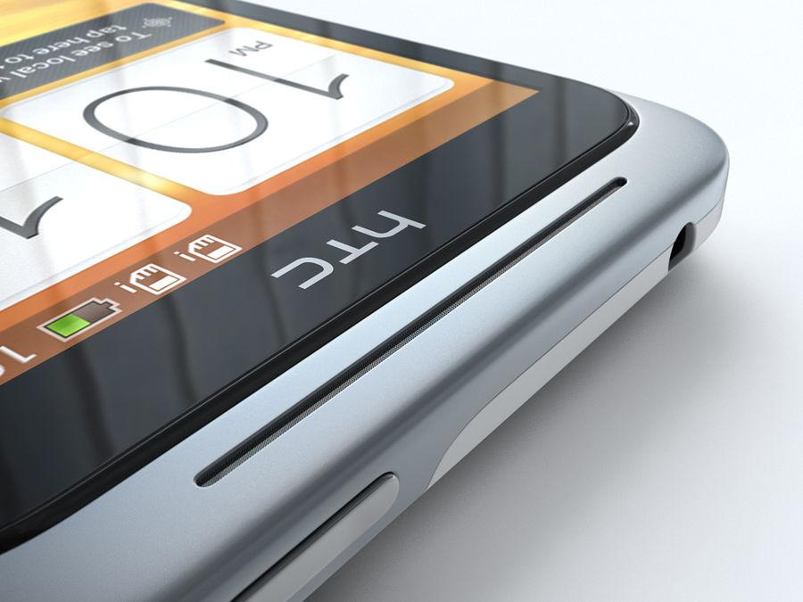 HTC Desire VC royalty-free 3d model - Preview no. 24