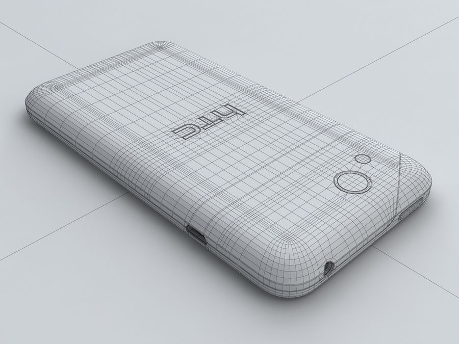HTC Desire VC royalty-free 3d model - Preview no. 29