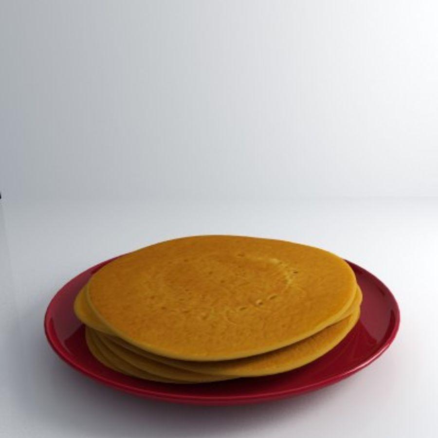 Pancake Gratuit royalty-free 3d model - Preview no. 3