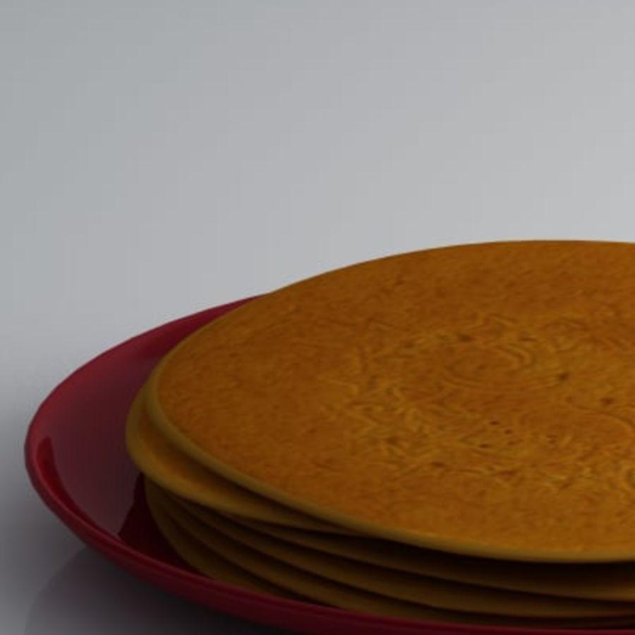 Pancake Gratuit royalty-free 3d model - Preview no. 4